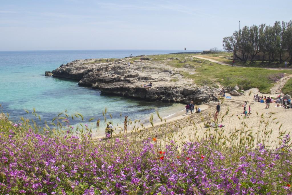 The coastline near Monopoli in Puglia, Italy