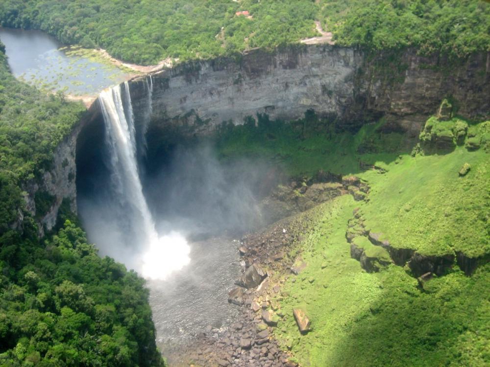 Guyana secret travel