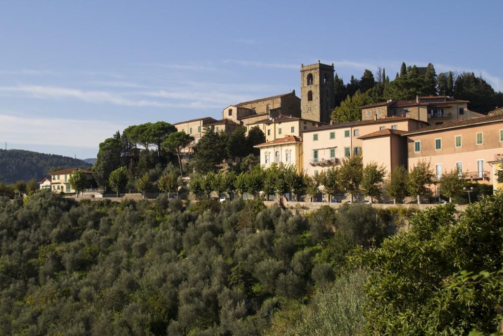 Montecatini Alto in Tuscany, Italy